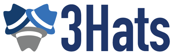 3Hats, LLC Logo